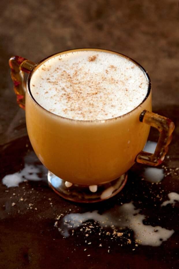 Чашечка шоколада, чтобы согреться в холодные дождливые дни