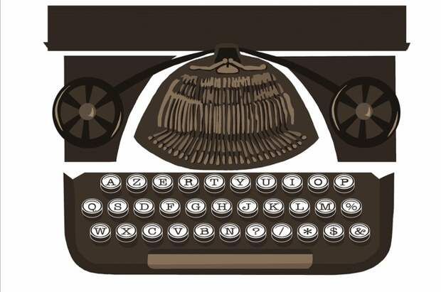 Органайзер в виде печатной машинки (Diy)