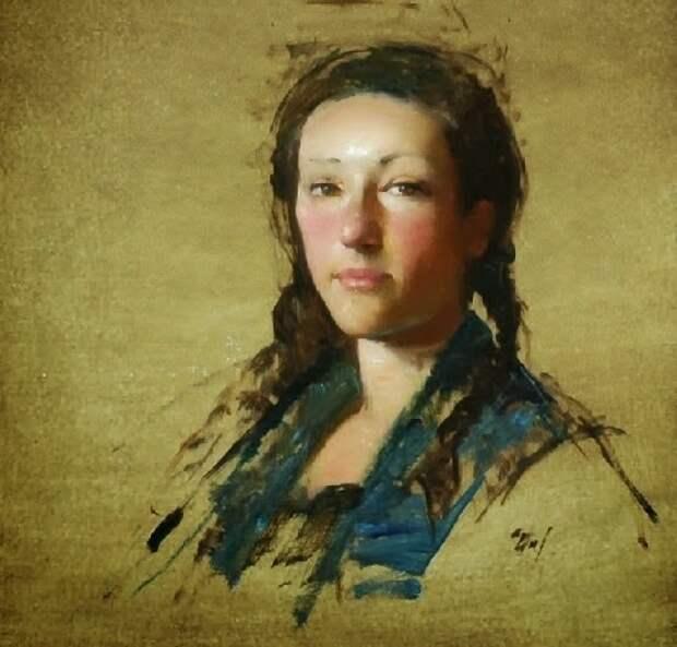 """""""Всем языкам на белом свете всегда понятна красота..."""" Американский художник David A. Leffel"""