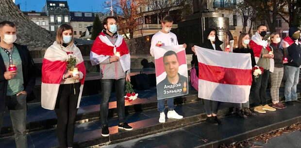 В Киеве и Львове прошли акции в честь экстремиста, застрелившего белорусского сотрудника КГБ