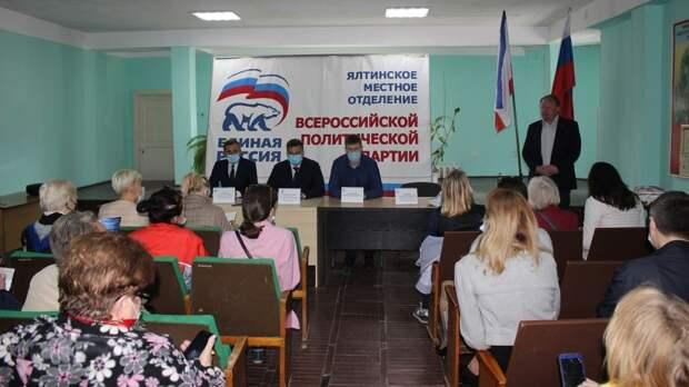 С рабочим визитом Ялту посетил Алексей Черняк