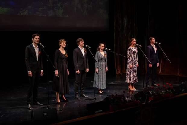 Студенты ГИТИСа дали концерт в Минске в честь 76-й годовщины Великой Победы