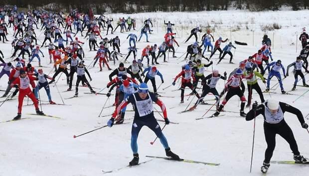 Более 15 тыс участников ожидается на гонке «Лыжня России» в Подмосковье