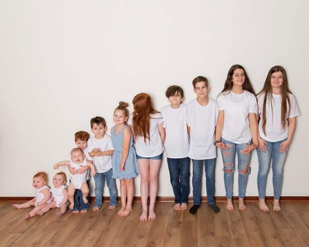 Многодетный выбор: мать 11 детей отстаивает позицию своей большой семьи