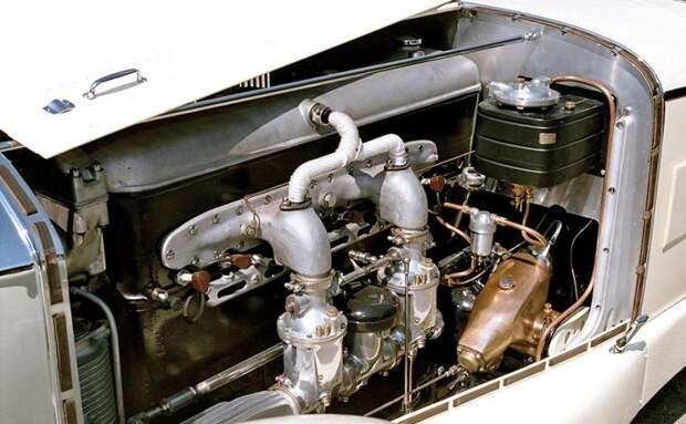 Теперь мотор такого автомобиля, как S Sports Tourer 1927, можно починить, поставив оригинальные детали. Во всяком случае некоторые из них. mercedes, mercedes-benz, олдтаймер, ретро авто