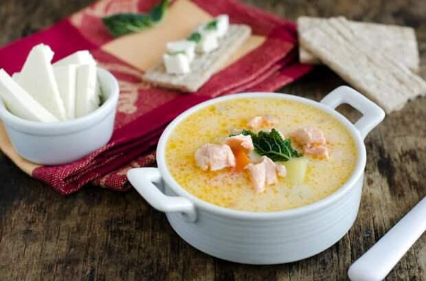 Рыбный суп с плавленым сыром. Восхитительное первое блюдо для любителей рыбки 8