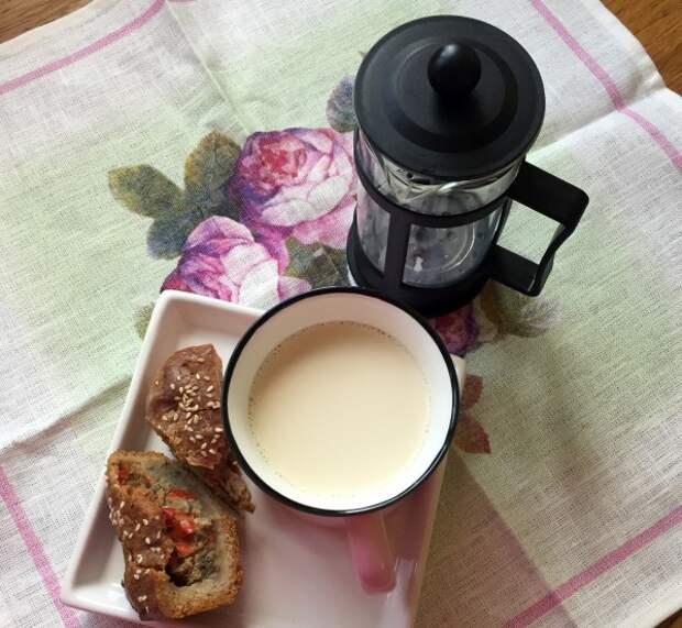 Молочный чай - тайное оружие против ... хотя почему против?.. это оружие - за!