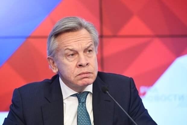 Пушков раскритиковал Шахрая за слова о распаде СССР и Горбачёве