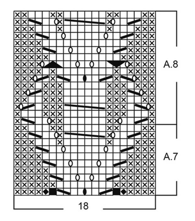 Кардиган спицами от Drops Design