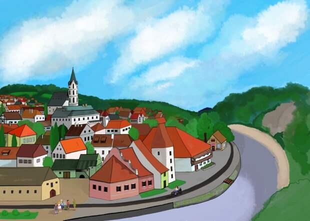 Кто угадает город на моем рисунке?