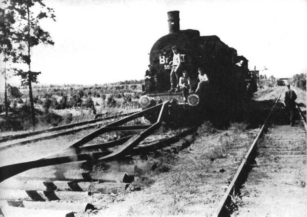 Охота за паровозом разрушителем