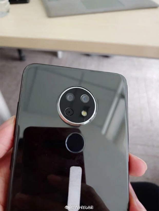Nokia выпустит смартфон с двойной круглой камерой