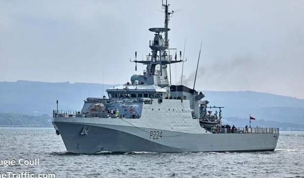 Военный корабль Великобритании вошел в Черное море