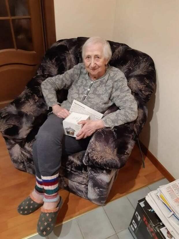 Жительница Марьиной рощи Елизавета Плотникова жила в блокадном Ленинграде
