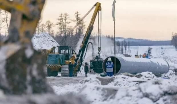«Газпром» думает построить еще два газопровода вКитай