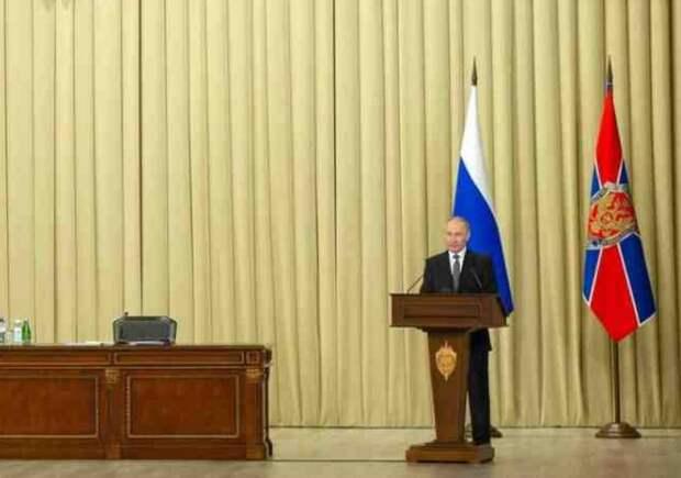 Новость запредельная: Путин поручил ФСБ дать ответ Западу на политику сдерживания России