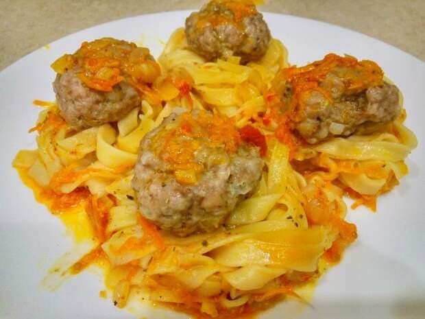 Макаронные гнезда с фаршем на сковороде Видео, Еда, Рецепт, Макароны, Фарш, Кулинария