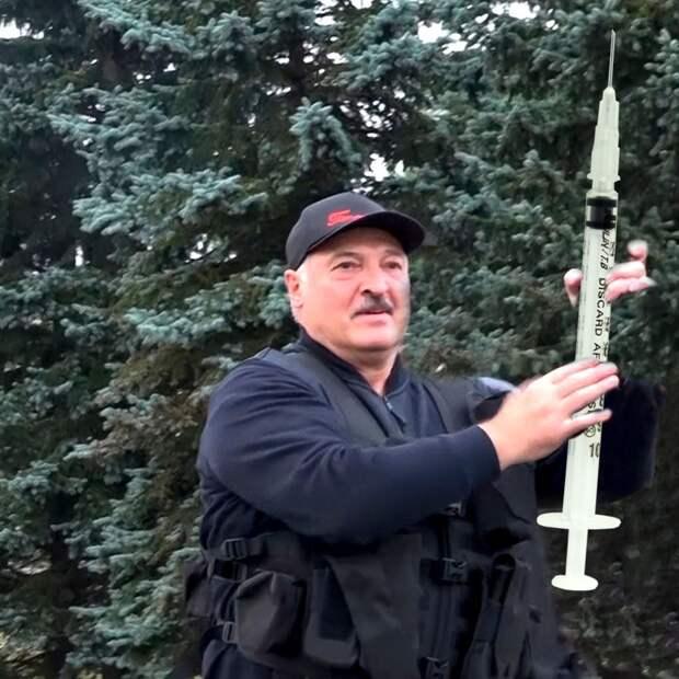 Лукашенко заявил, что Белоруссия создала собственную вакцину от COVID-19. Она лучше,...
