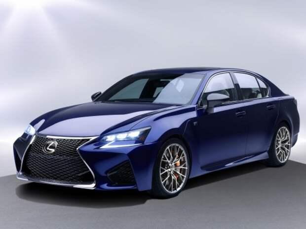 Lexus анонсировал обновление GS с помощью спортседана GS F