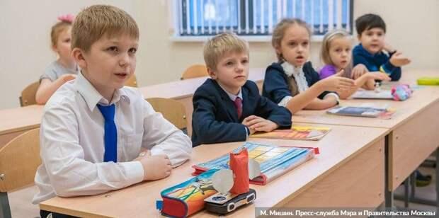 Москвичам рассказали, как будут работать школы со следующей недели. Фото: М. Мишин mos.ru