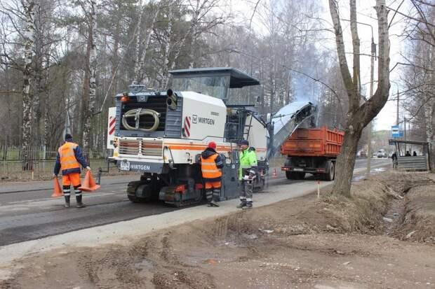 Капитальный ремонт дорог в Удмуртии начали с Можги