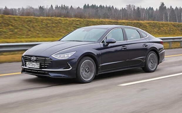 Hyundai представила восьмое поколение седана Sonata