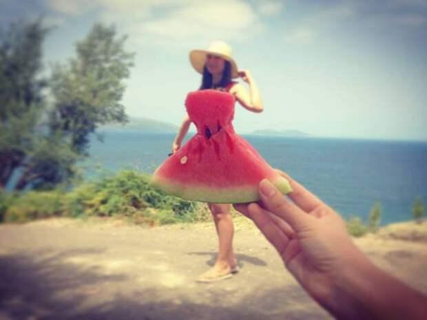 Скачать прикольные и красивые картинки: Арбузное платье. Новый хит ...