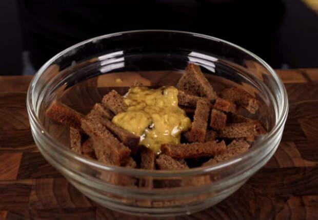 Сухарики на закуску: 3 вкуса к любой еде
