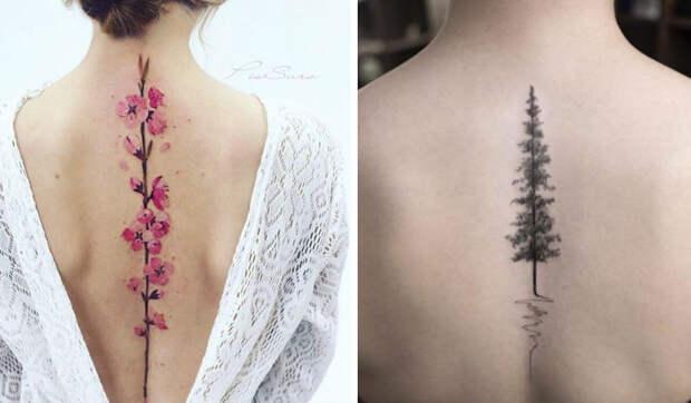 20 лучших идей для татуировок наспину