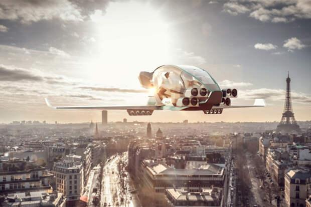 Aeromobil_eVTOL_X01_polet