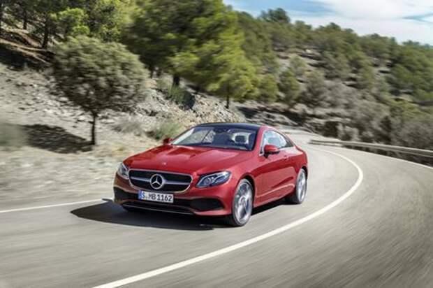 Больше и лучше: Mercedes-Benz представил новое купе E-класса