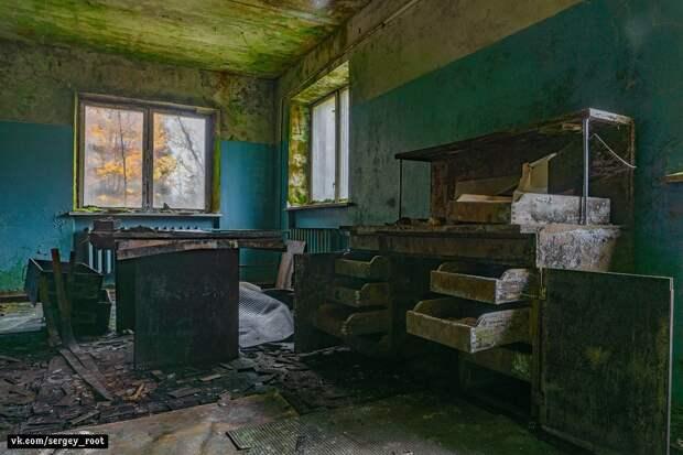 Заброшенная геодезическая лаборатория в московской области