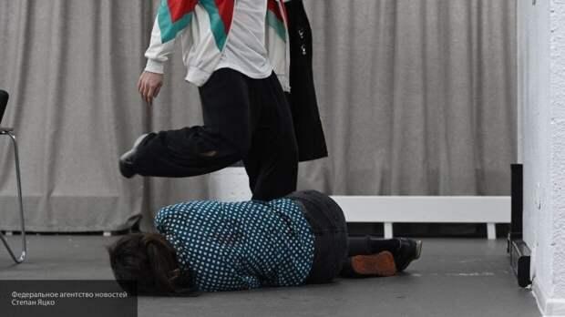 Пьяный отецизбил няню на глазах сына в Подмосковье