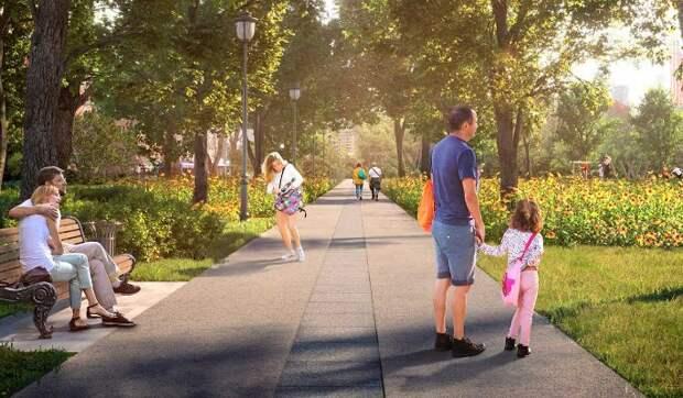 Парк Декабрьского восстания приведут в порядок до конца лета