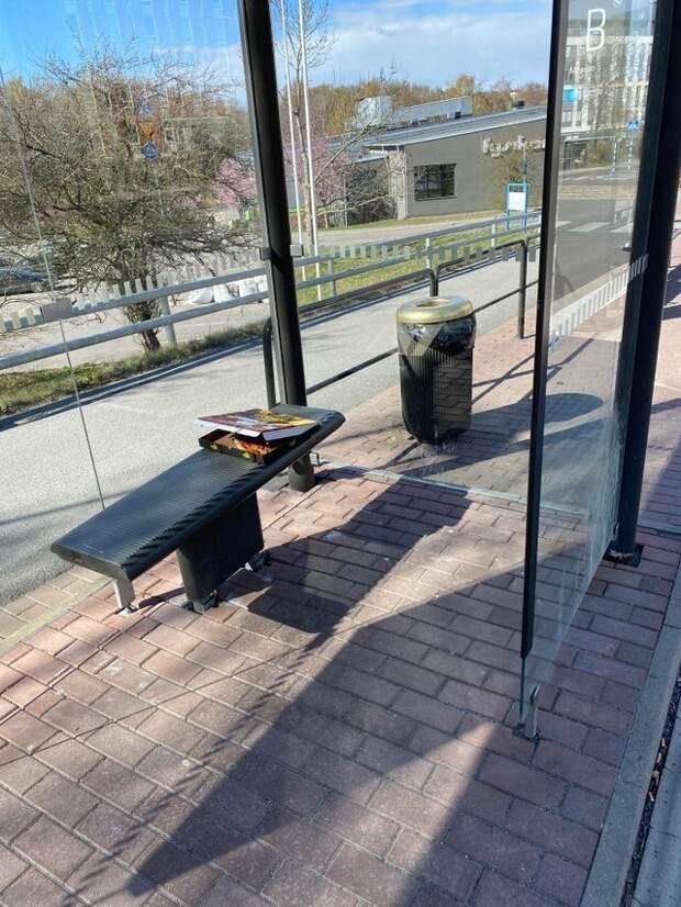 Кто-то забыл свою пиццу