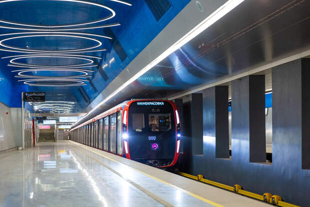 Как обновляют парк столичного метрополитена