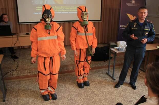 Урок памяти, посвященный 35-й годовщине катастрофы на Чернобыльской АЭС
