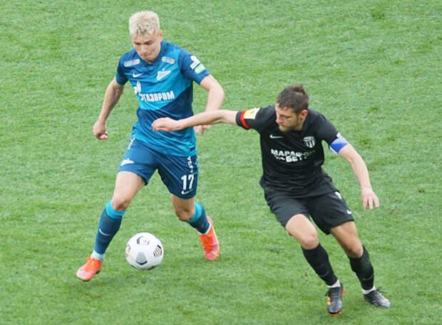 В одном компоненте «Зенит» показал подобие европейского футбола