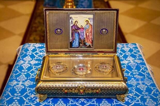 Частицу Пояса Пресвятой Богородицы привезут в Ижевск на 3 дня