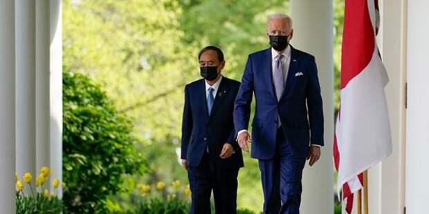 Премьер Японии отказал Байдену идти против Китая ввоенной поддержке Тайваня