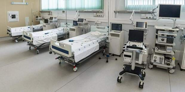 Собянин открыл коронавирусный стационар в ГКБ № 24. Фото: mos.ru