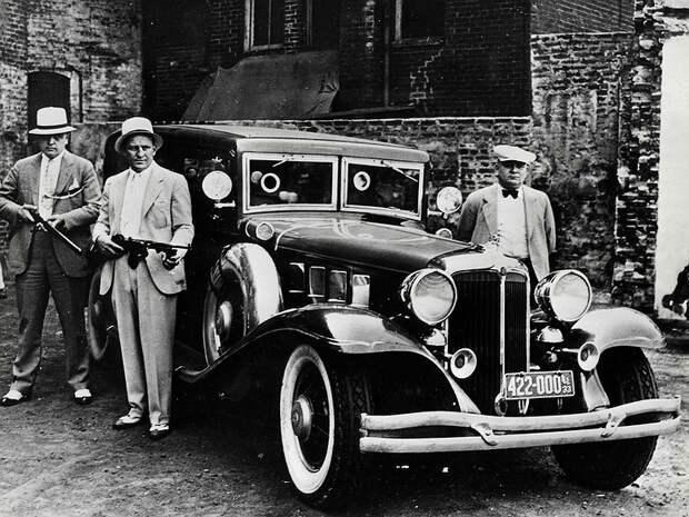 Любимые автомобили американской мафии