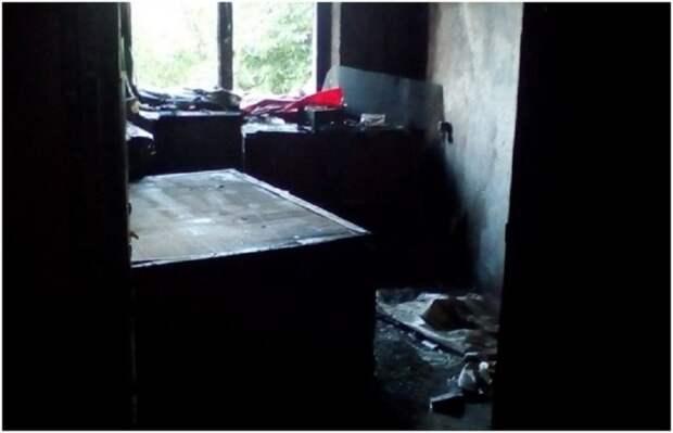 В н.п. Суходольск во время пожара на ул. Станиславского пострадала семейная пара