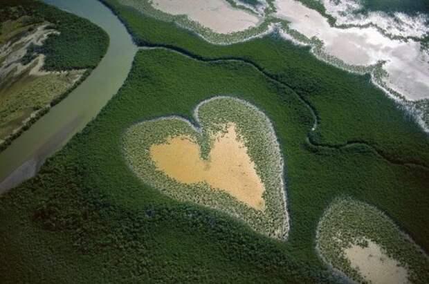 Сердца природы со всего мира - ВАЛЕНТИНКИ