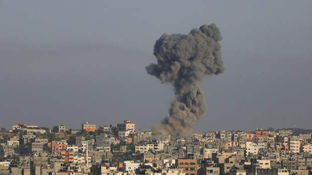 Военное крыло ХАМАС атаковало израильский химзавод у границы с сектором Газа
