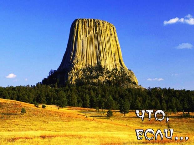 Что, если стволовые (столовые) горы имеют корневую систему?