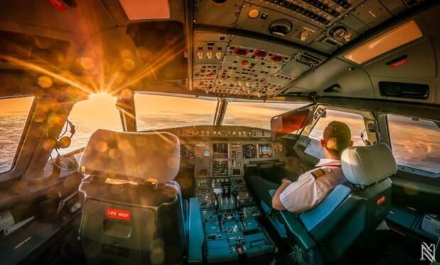 fromcockpit18 25 фотографий, сделанных пилотами из кабин самолетов