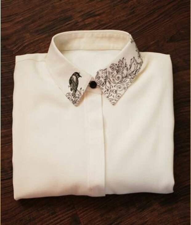 Рубашки с росписью (подборка)