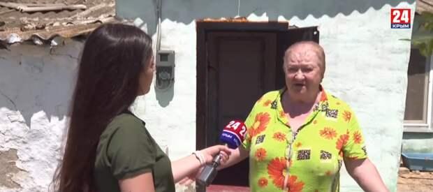 Нет туалета и водопровода, потолок в трещинах: в Керчи 101-летняя ветеран труда живёт в аварийном жилье