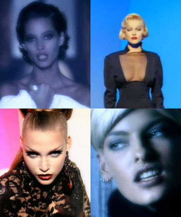 Роскошные женщины из 90-ых снявшиеся в клипах Джорджа Майкла